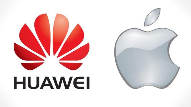 """Huawei đang trong trận chiến """"một chọi ba"""" với Apple, Samsung và Google ảnh 1"""