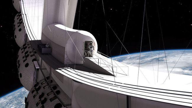 Khách sạn không gian đầu tiên trên thế giới mở cửa vào năm 2027 ảnh 1