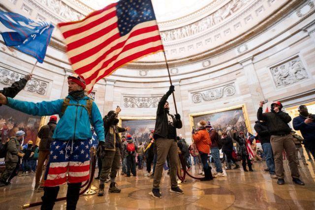 CEO Big Tech tại phiên điều trần sau vụ bạo loạn Đồi Capitol: Kiếm tiền hay nước Mỹ quan trọng? ảnh 2