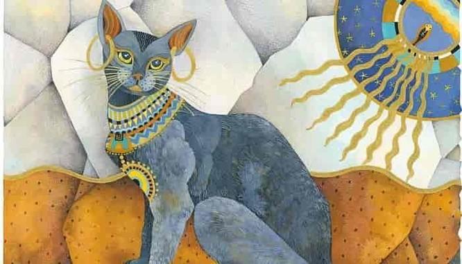 Tại sao người Ai Cập cổ đại lại tôn sùng mèo? ảnh 1