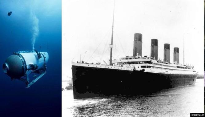 Xác tàu Titanic đang dần biến mất ảnh 1