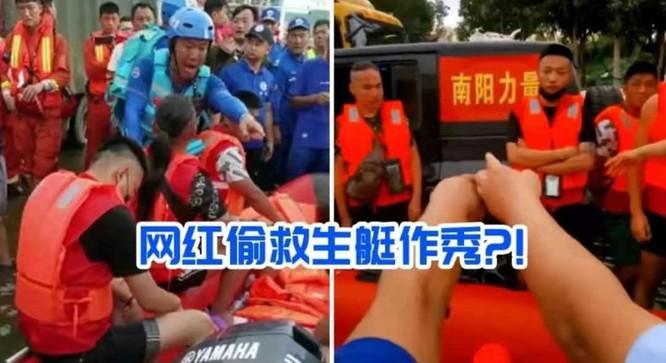 Sự vô cảm của người nổi tiếng trên MXH bộc lộ qua trận lũ lụt lịch sử của Trung Quốc ảnh 1