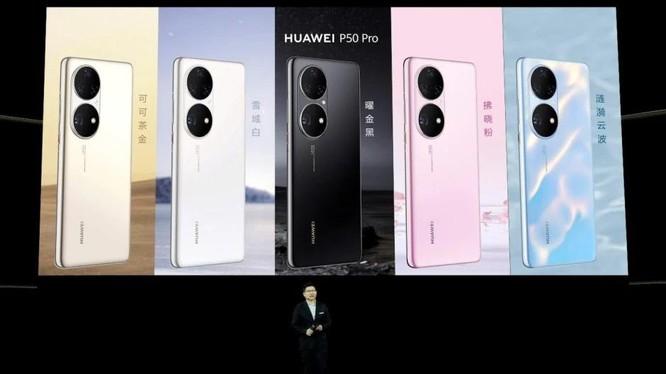 """Thấy gì từ việc Huawei ra mắt smartphone P50 và loạt thiết bị công nghệ khi vẫn bị Mỹ """"cấm vận""""? ảnh 1"""
