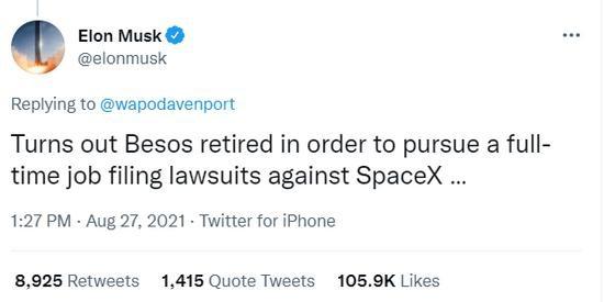 """""""Drama"""" giữa hai ông trùm không gian Jeff Bezos - Elon Musk ngày càng kịch tính ảnh 1"""