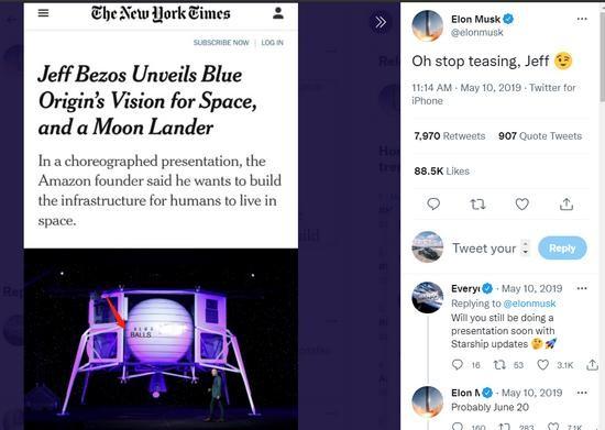 """""""Drama"""" giữa hai ông trùm không gian Jeff Bezos - Elon Musk ngày càng kịch tính ảnh 11"""