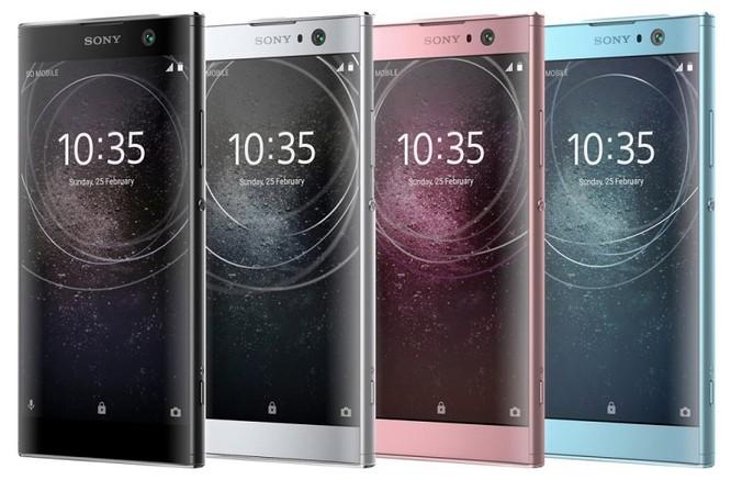 Rò rỉ hình ảnh bộ ba Sony Xperia XA2, XA2 Ultra và Xperia L2 ảnh 1