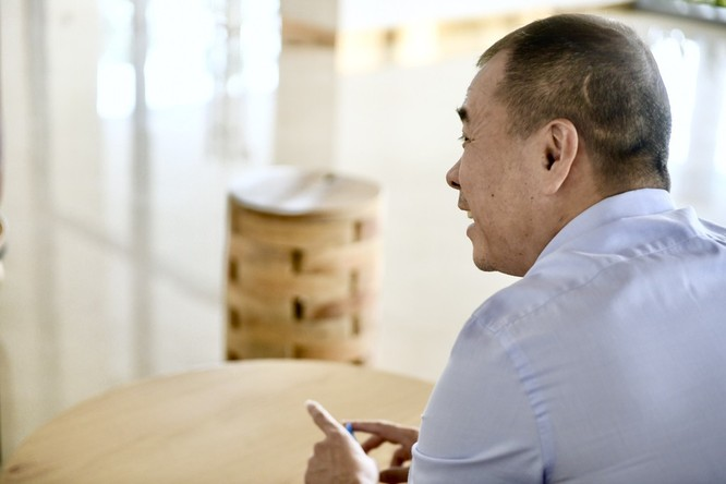 Ông Huy Nhật chia sẻ về việc bị mất quyền điều hành tại công ty (Nguồn: Zing)