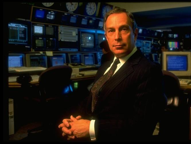 Bloomberg trong văn phòng năm 1992 (Nguồn: Business Insider)