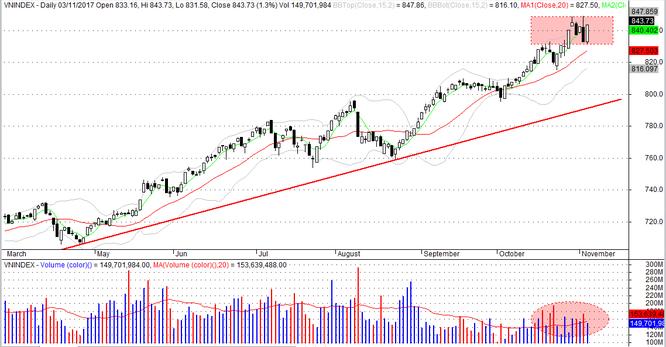 Thị trường chứng khoán tuần 06/11 - 10/11: Tuân thủ nguyên tắc đầu tư ảnh 1