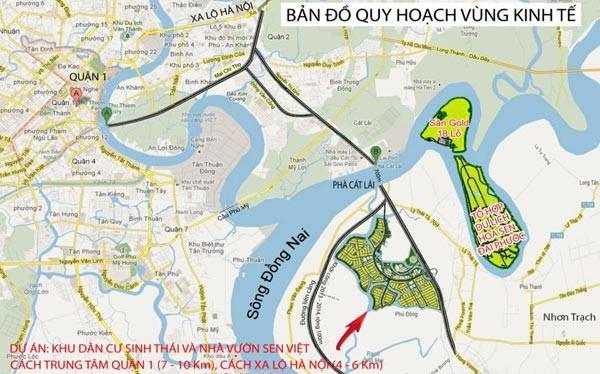 Không chỉ gom dự án ở Bắc Ninh & Hòa Bình, Phú Mỹ Hưng cũng đã mua khu sinh thái nhà vườn Sen Việt ở Đồng Nai ảnh 1