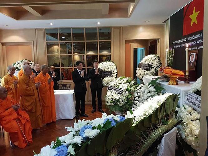 Lễ viếng Chủ tịch nước Trần Đại Quang tại các nước ảnh 13