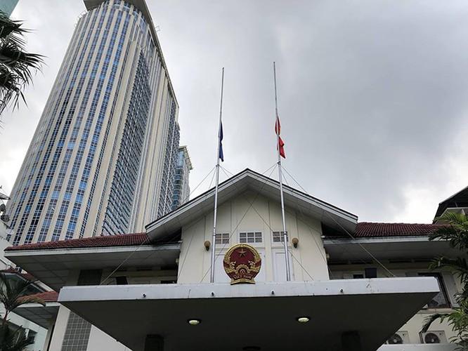 Lễ viếng Chủ tịch nước Trần Đại Quang tại các nước ảnh 14