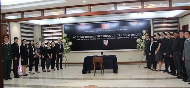 Lễ viếng Chủ tịch nước Trần Đại Quang tại các nước ảnh 17