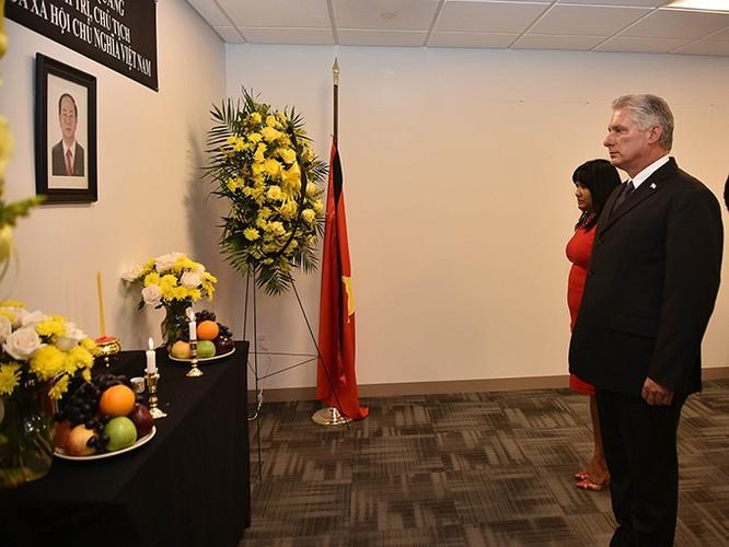 Lễ viếng Chủ tịch nước Trần Đại Quang tại các nước ảnh 4