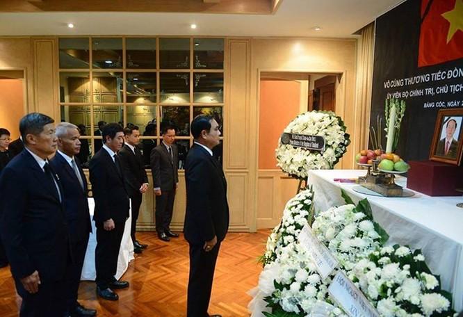 Lễ viếng Chủ tịch nước Trần Đại Quang tại các nước ảnh 9