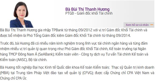 """TPBank sắp """"chia tay"""" nữ Phó Tổng Giám đốc 8x ảnh 1"""