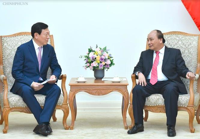 Thủ tướng đề nghị Tập đoàn Lotte lập quỹ khởi nghiệp cho thanh niên Việt Nam ảnh 1