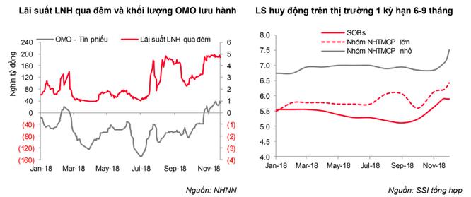 Lãi suất VND đạt mặt bằng cao trong suốt tháng 11 và tiếp tục duy trì trong ngắn hạn ảnh 2