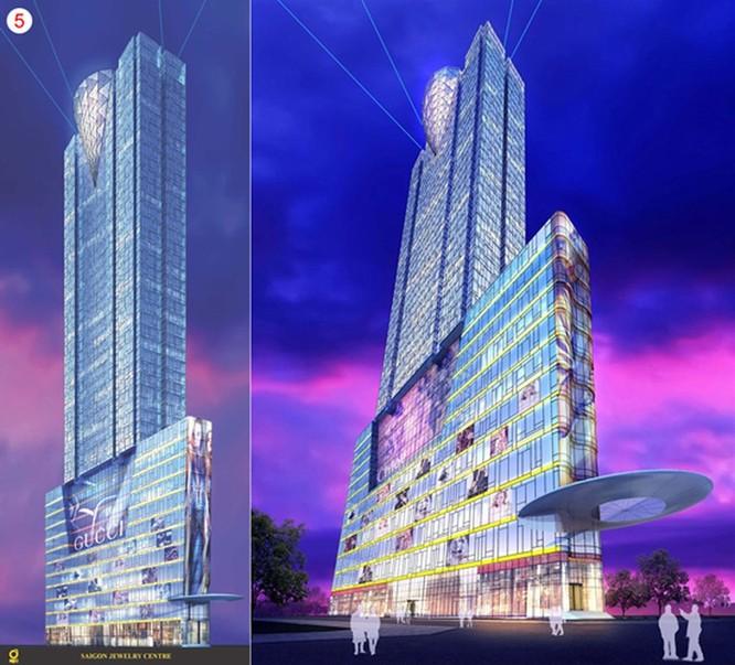 """SJC Tower bị """"cắt ngọn""""… trên giấy ảnh 1"""