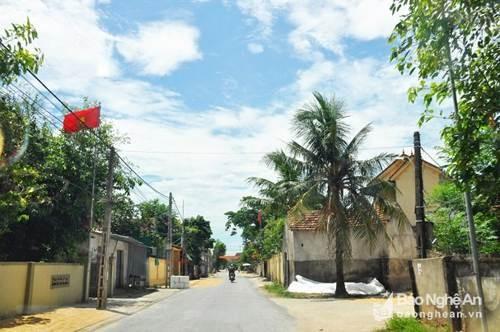 Nam Đàn được thí điểm trở thành huyện nông thôn mới kiểu mẫu ảnh 1