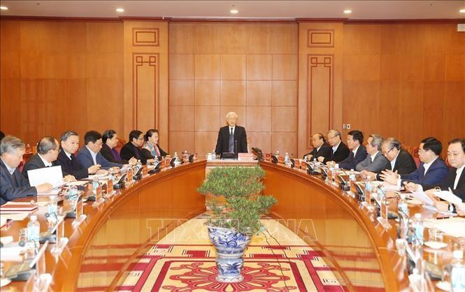 Tiểu ban văn kiện Đại hội XIII của Đảng họp phiên đầu tiên ảnh 1