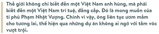 Ông Phạm Nhật Vượng: Thế giới phải biết Việt Nam trí tuệ, đẳng cấp ảnh 2
