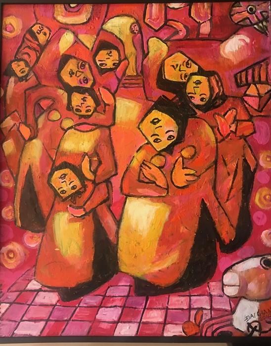 Tác phẩm sơn dầu