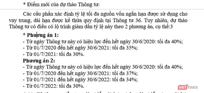 """Diễn biến lãi suất huy động sẽ ra sao khi NHNN """"siết"""" tỷ lệ vốn ngắn hạn cho vay trung và dài hạn? ảnh 1"""