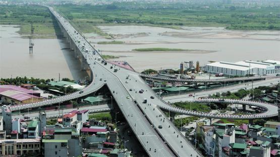 """Hà Nội """"xoay"""" phương án đầu tư cầu Vĩnh Tuy mới, Him Lam có """"tuột"""" quỹ đất 440 ha ở bãi ngoài đê tả sông Hồng? ảnh 1"""