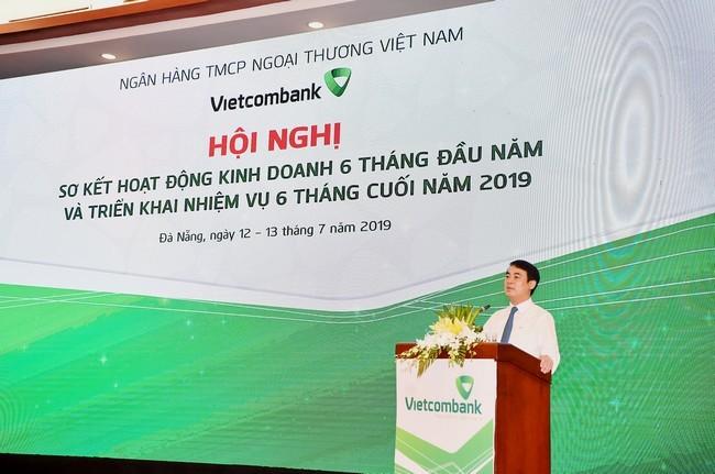 Vietcombank lãi báo 11.045 tỷ đồng trong 6 tháng đầu năm 2019 ảnh 1