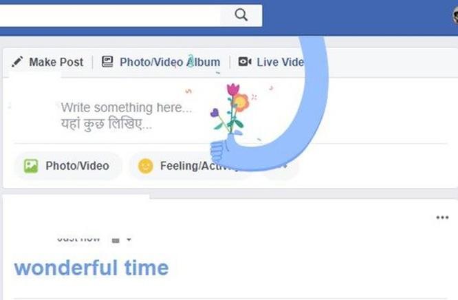 Tổng hợp các hiệu ứng chữ đặc biệt trên Facebook ảnh 5