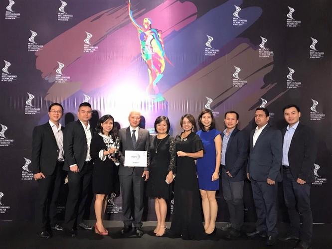 Wipro Consumer Care Việt Nam lần thứ 2 đạt giải Nơi làm việc tốt nhất châu Á ảnh 1