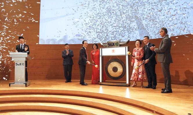 Đánh cồng tại SGX, ông Trịnh Văn Quyết tuyên bố: Cổ phiếu FLC sẽ niêm yết tại Singapore vào năm 2020 hoặc 2021 ảnh 1