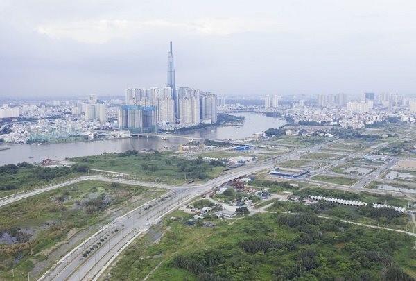TPHCM xin sáp nhập 3 quận thành lập thành phố phía Đông. Ảnh minh họa: TTXVN