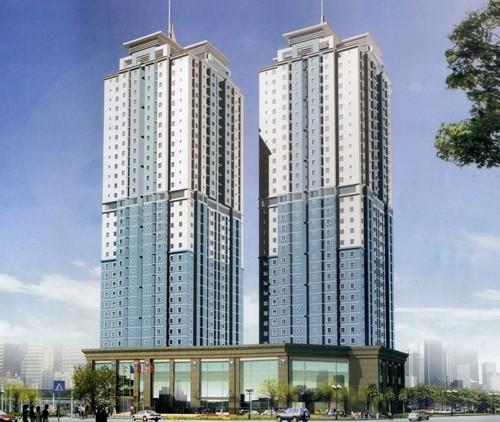 Phối cảnh dự án Khu nhà ở chung cư cao tầng tại phường Bình An, Quận 2
