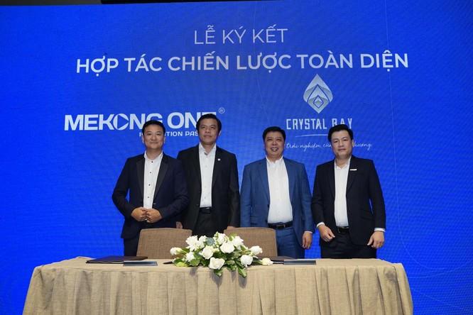 Mekong One ký kết hợp tác chiến lược với Ecopark và Crystal Bay ảnh 2