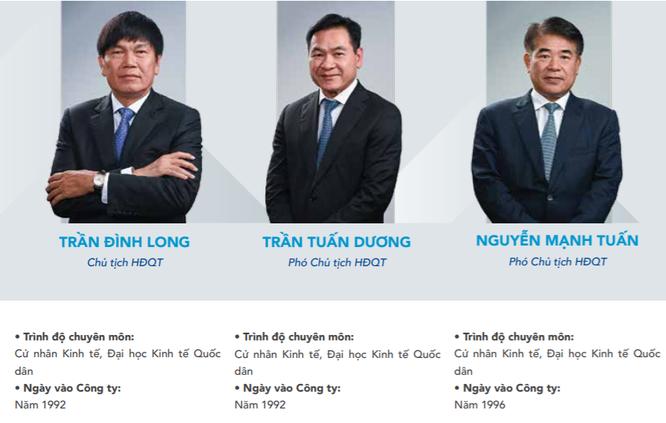 Các sếp Hoà Phát muốn chuyển nhượng hàng triệu cổ phiếu HPG cho con ảnh 1