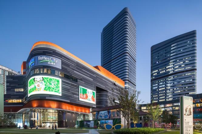 CapitaLand dự thu 7,1 tỉ USD nhờ thoái bớt vốn 6 dự án Raffles City cho Ping An ảnh 1