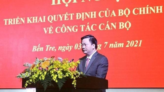 Rời VietinBank, ông Lê Đức Thọ làm Bí thư Tỉnh uỷ Bến Tre ảnh 1