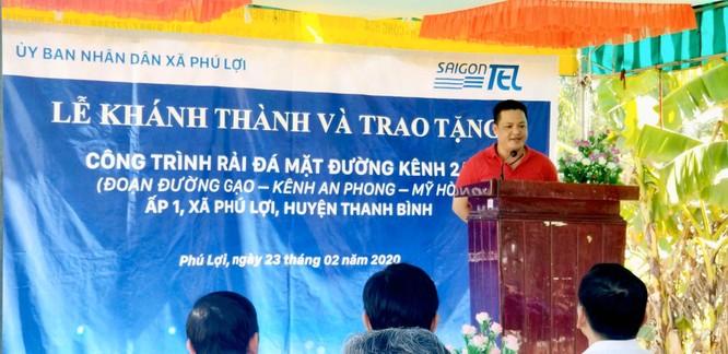 Khoản vay trăm tỉ của ông Phan Thạch Tâm ở Saigontel ảnh 1