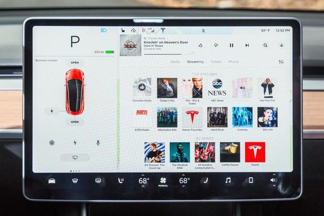 Nội thất độc nhất vô nhị của Tesla Model 3 ảnh 5