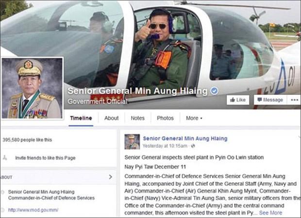 Facebook lần đầu tiên khóa tài khoản của lãnh đạo quân đội một quốc gia có chủ quyền ảnh 1