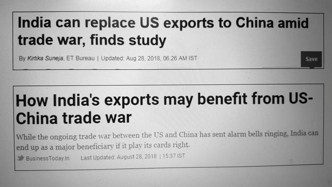 Chiến tranh thương mại Trung – Mỹ: Argentina và Ấn Độ đắc lợi ảnh 3