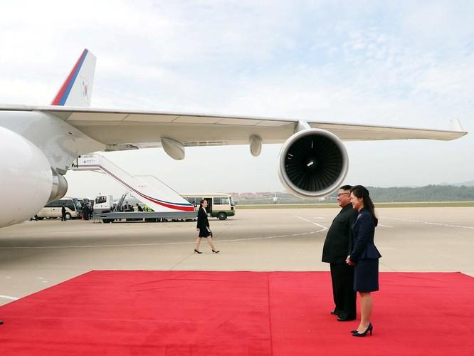 Bất ngờ trong lễ đón Tổng thống Moon Jae In tại Bình Nhưỡng ảnh 1