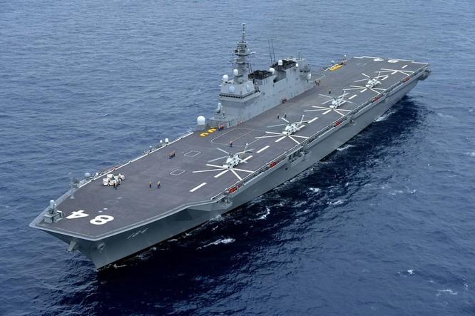 Tàu ngầm, tàu sân bay Nhật tập trận ở Biển Đông, Trung Quốc nổi đóa ảnh 1