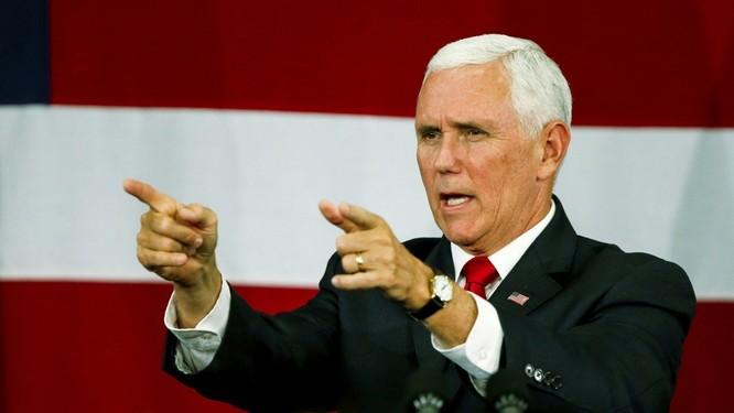 Ông Mike Pence: giải quyết vấn đề quan hệ Mỹ - Trung phụ thuộc vào phía Trung Quốc