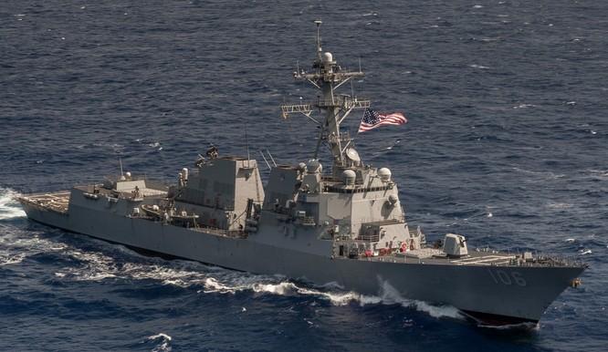 Tàu chiến Mỹ xuyên eo biển Đài Loan khiến Bắc Kinh tức giận ảnh 1