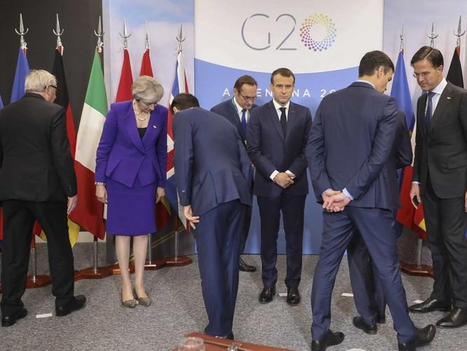 Hội nghị G20 ngày đầu tiên – Ông Donald Trump phớt lờ tổng thống Putin ảnh 7