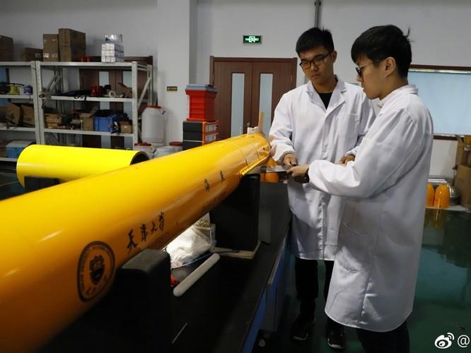 Trung Quốc sản xuất tàu ngầm không người lái hoạt động dài ngày dưới biển ảnh 4