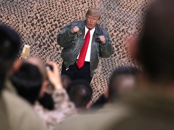 Chuyến đi của ông Donald Trump tới Iraq: lợi bất cập hại, lộ bí mật đặc nhiệm Mỹ ảnh 7